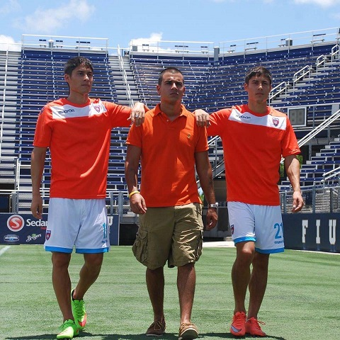 Miami FC Professional Soccer Twins Partner with Pittsburgh Recording Artist