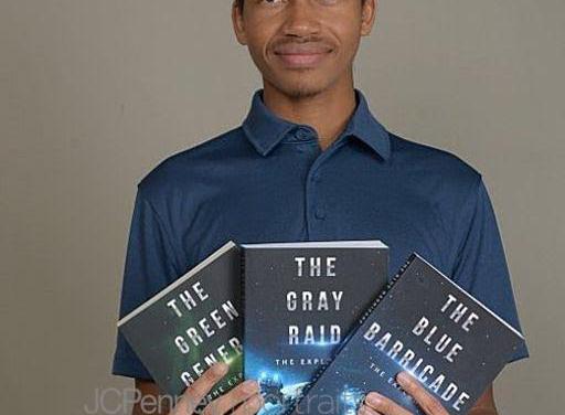 Meet Newest Sci-Fi Author Kesten E Harris
